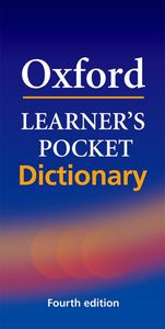 Oxford Learner's Pocket Dictionary 4th edition