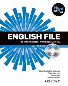 English File 3rd Edition Pre-Intermediate: Workbook Pack With Key